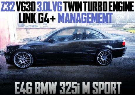 VG30DETT V6 TWINTURBO E46 BMW 325i