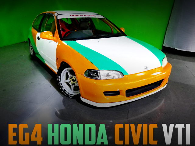 OSAKA KANJO CIVIC CUSTOM CAR