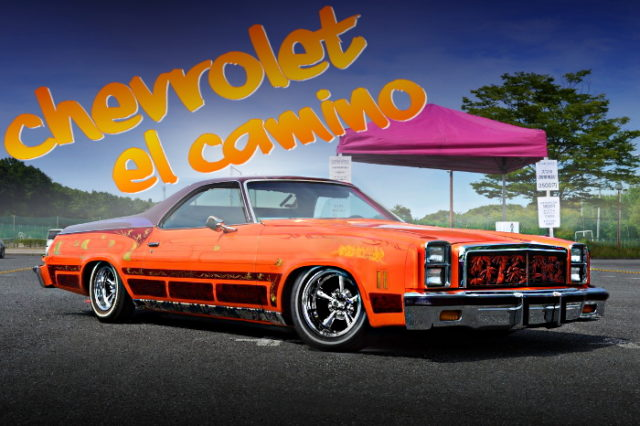 CUSTOM PAINT COLOR CHEVROLET EL CAMINO