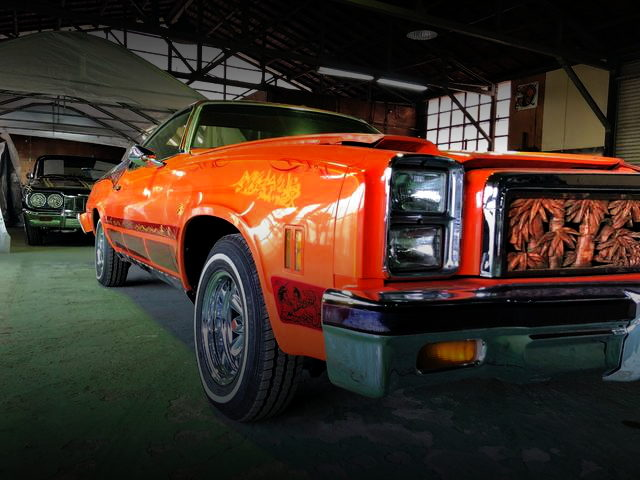 FRONT SIDE el camino ORANGE