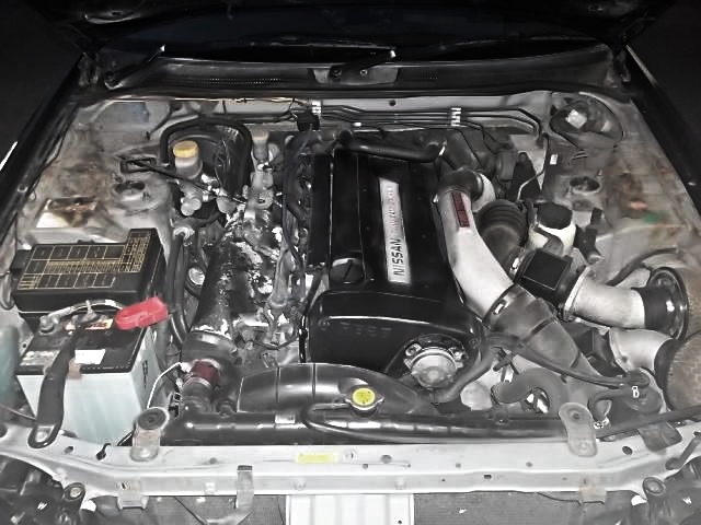 RB26 TWINTURBO ENGINE FROM ENR34