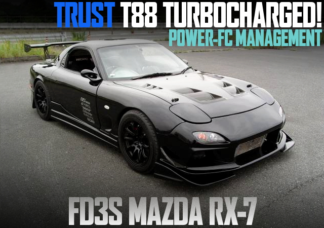 T88 SINGLE TURBO FD3S RX7