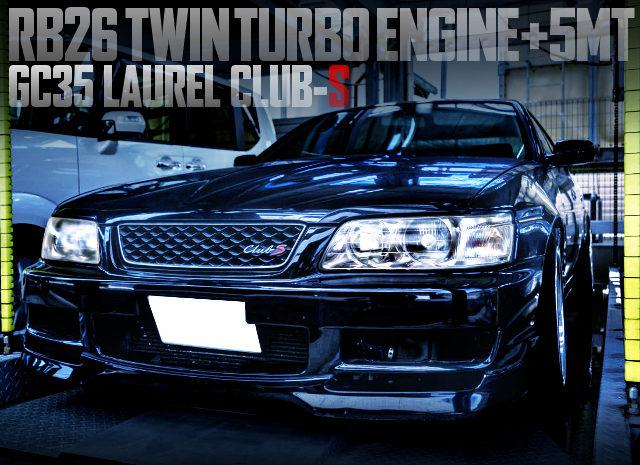 RB26 SWAP GC35 LAUREL