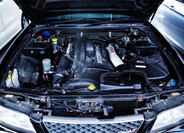 RB26DETT TWINTURBO ENGINE
