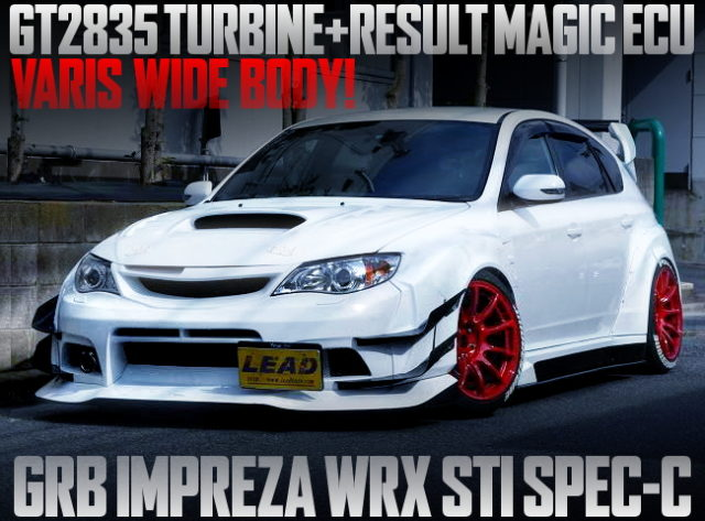 WIDEBODY GRB IMPREZA WRX STI WHITE