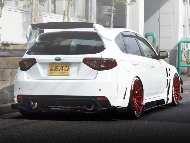 REAR EXTERIOR GRB WRX STI WIDEBODY
