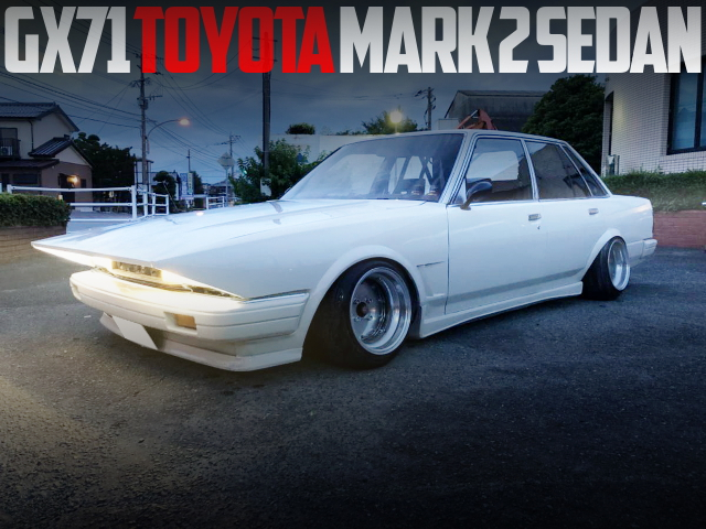 LONG NOSE KAIDO RACE GX71 MARK2 SEDAN