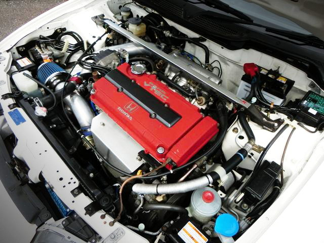 TURBOCHARGED B18C VTEC ENGINE