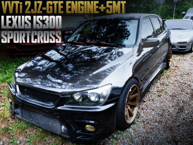 2JZ-GTE ENGINE 5MT LEXUS IS300 SPORT CROSS