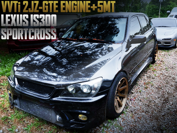 2JZ-GTE ENGINE 5MT LEXUS IS300 SPORT CROSS