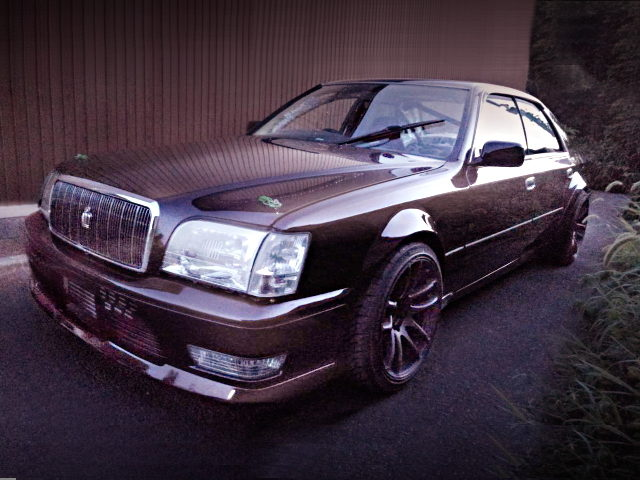 FRONT MAJESTA FACE JZS151 CROWN BROWN