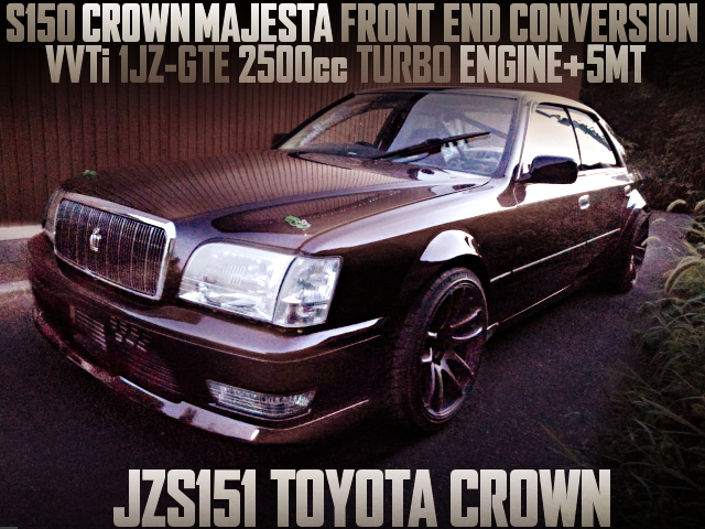 1JZ TURBO MAJESTA FACE JZS151 CROWN