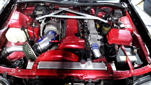 VVTi 1JZ-GTE ENGINE WITH TOP MOUNT TURBO