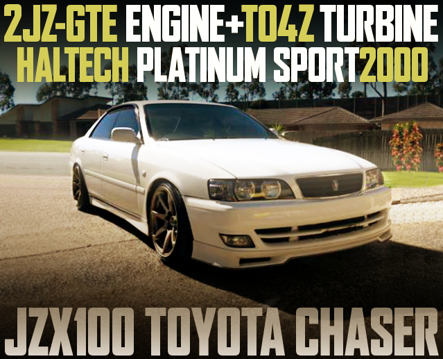 2JZGTE TO4Z TURBO JZX100 CHASER