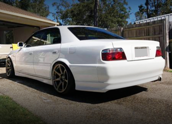 REAR EXTERIOR JZX100 CHASER WHITE