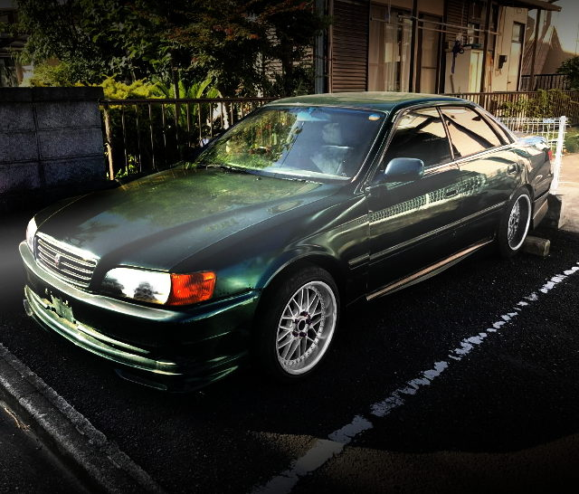 FRONT EXTERIOR JZX100 GREEN COLOR