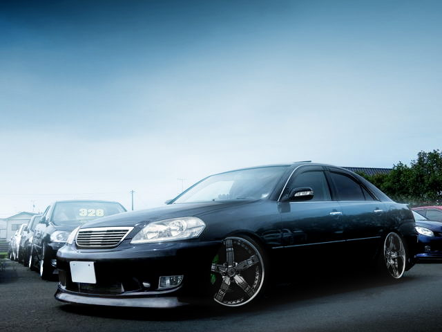 FRONT EXTERIOR JZX110 MARK2 IRV BLACK