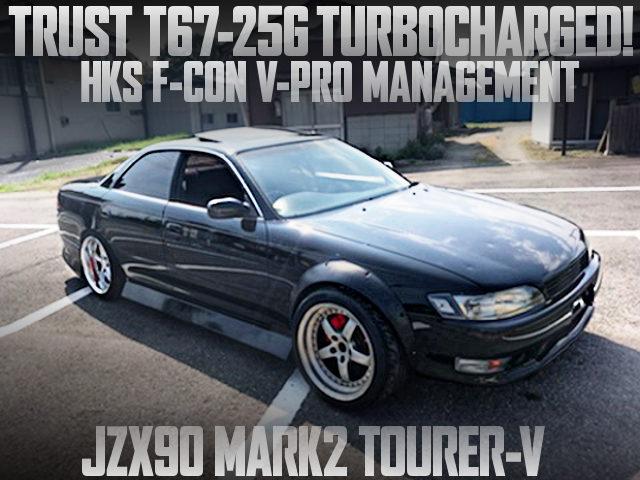 T67-25G TURBO VPRO JZX90 MARK2 BLACK