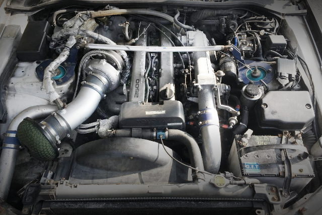 1JZ-GTE WITH GTX3576R SINGLE TURBO
