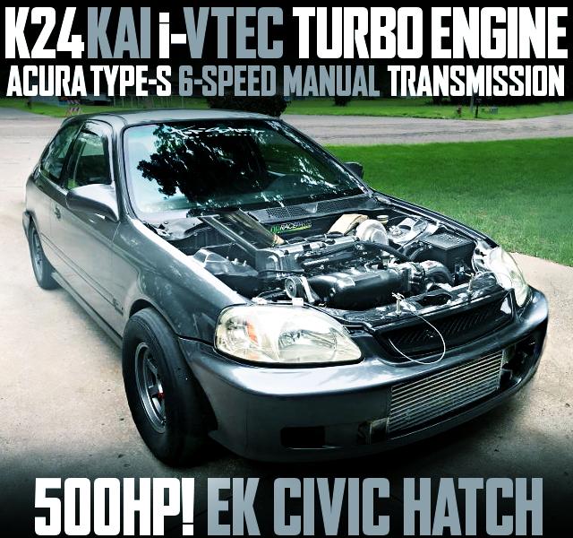 K24A I-VTEC TURBO EK CIVIC