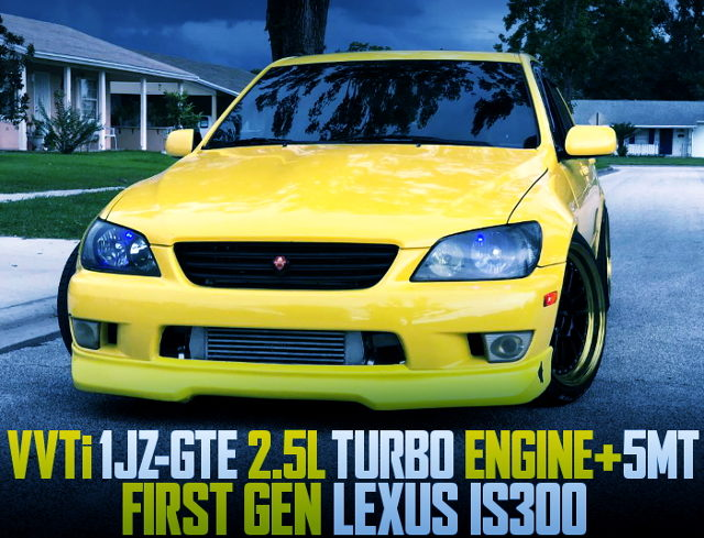 1JZ TURBO SWAP FIRST GEN LEXUS IS300