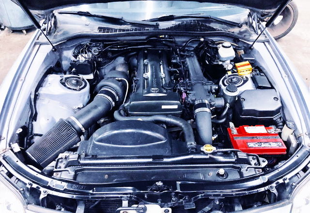 2JZ-GTE ENGINE WITH COMPTURBO