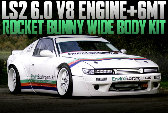 LS2 V8 ENGINE ROCKET BUNNY S13 200SX