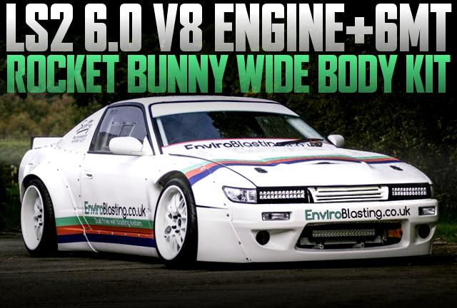LS2 V8 ENGINE ROCKET BUNNY S13 200SX