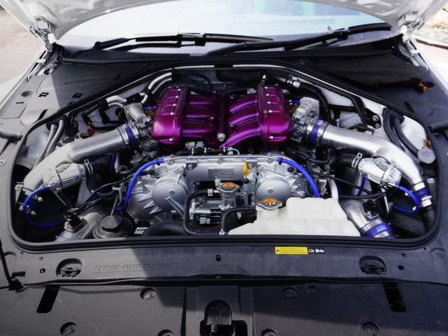 HKS TUNING VR38DETT ENGINE