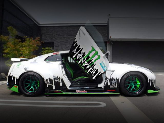 LAMBO DOOR CUSTOM FROM R35 GTR