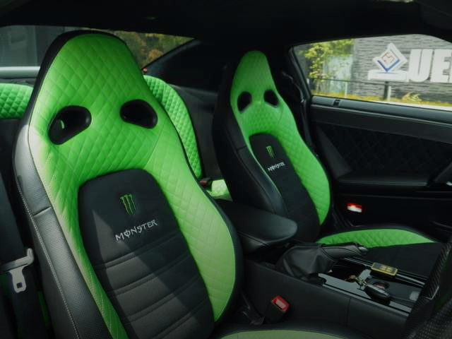 MONSTER ENERGY LOGO SEATS