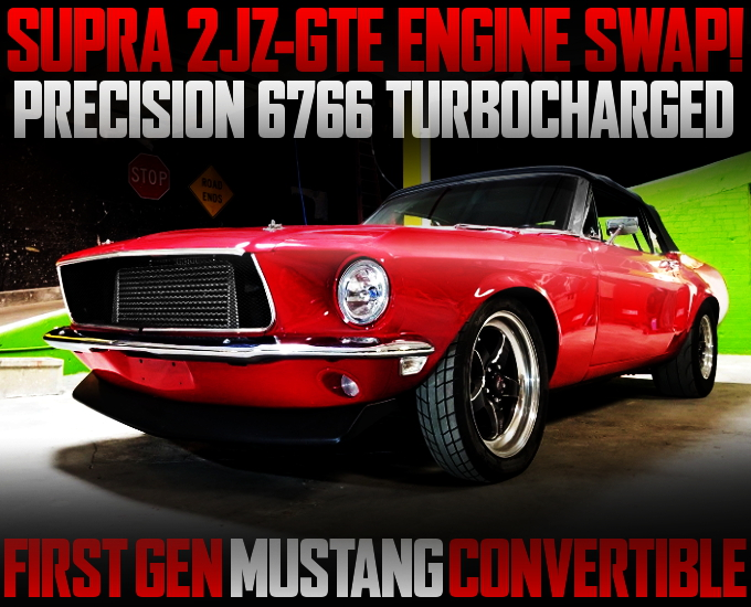 2JZ SWAP FIRST GEN MUSTANG CONVERTIBLE