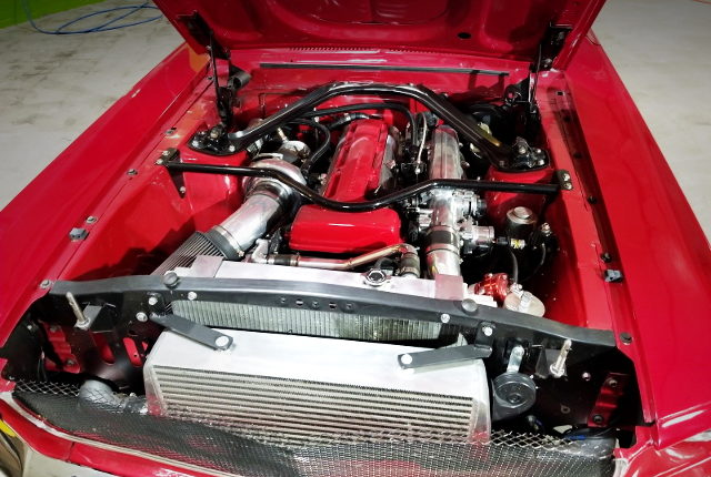 2JZ-GTE WITH PTE6766 TURBO