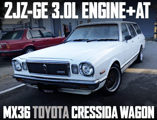 2JZGE SWAP AT SHIFT MX36 CRESSIDA WAGON