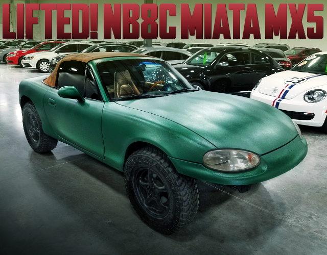 LIFTED NB8C MIATA MX5 GREEN
