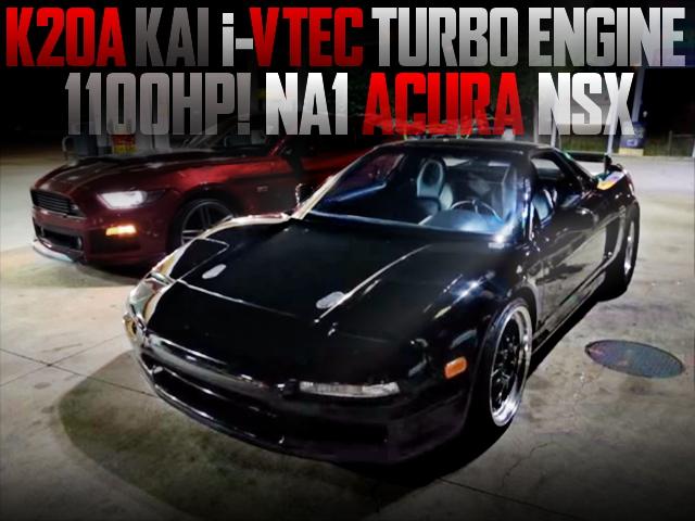 K20A i-VTEC TURBO NA1 NSX