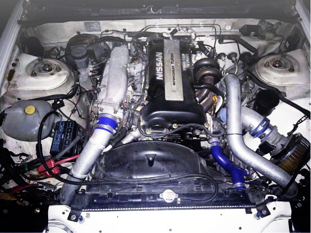 S14 SR20DET BLACK TOP ENGINE