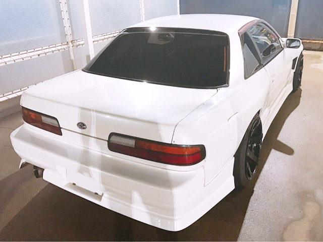 REAR EXTERIOR S13 SILVIA WHITE