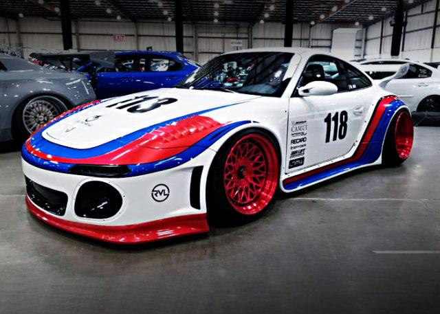 MARTINI RACING COLOR PORSCHE 997