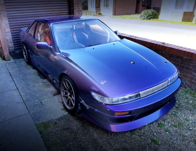 FRONT EXTERIOR S13 SILVIA PURPLE