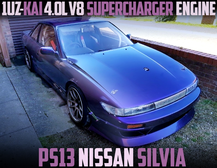 1UZ V8 SUPERCHARGER S13 SILVIA