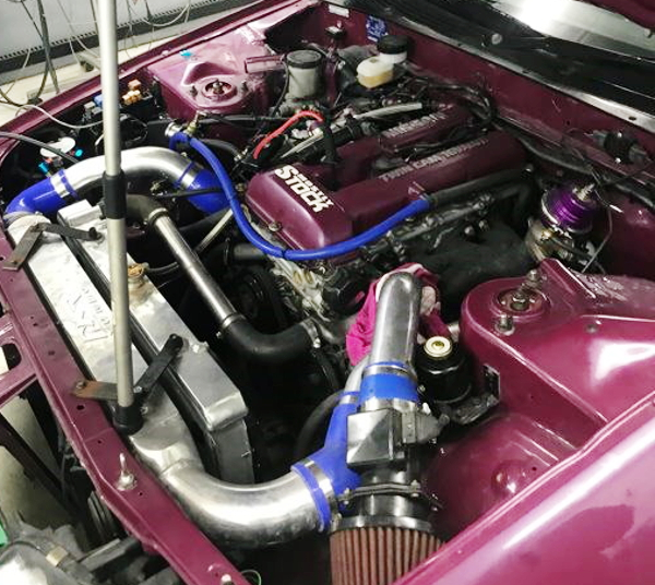 SR20DET TURBO ENGINE SWAP R32