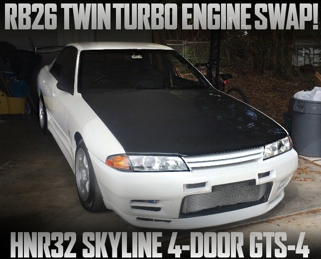 RB26 TWINTURBO HNR32 GTS4 WHITE