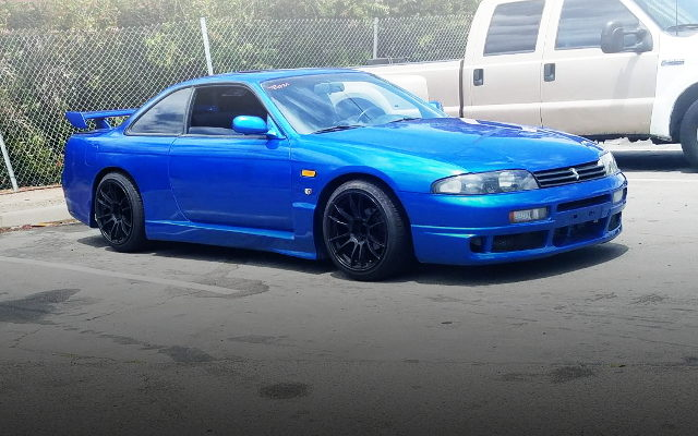 FRONT EXTERIOR R33 SKYLINE REP S14 240SX