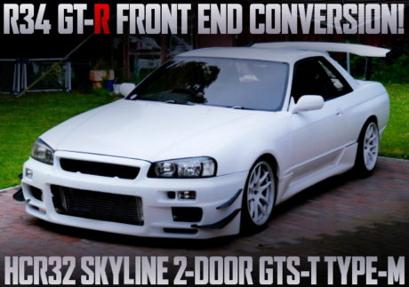 R34GTR FRONT END R32 SKYLINE GTST TYPE-M