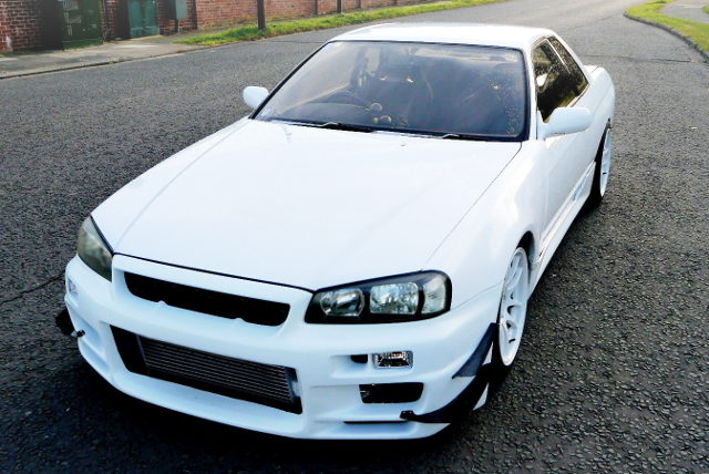 FRONT R34GTR FACE CONVERSION R32 SKYLINE