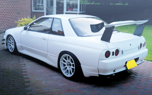REAR EXTERIOR HCR32 SKYLINE 2-DOOR