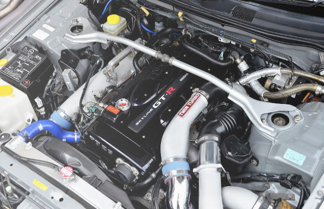 RB26 TWINTURBO ENGINE FROM R34GTR