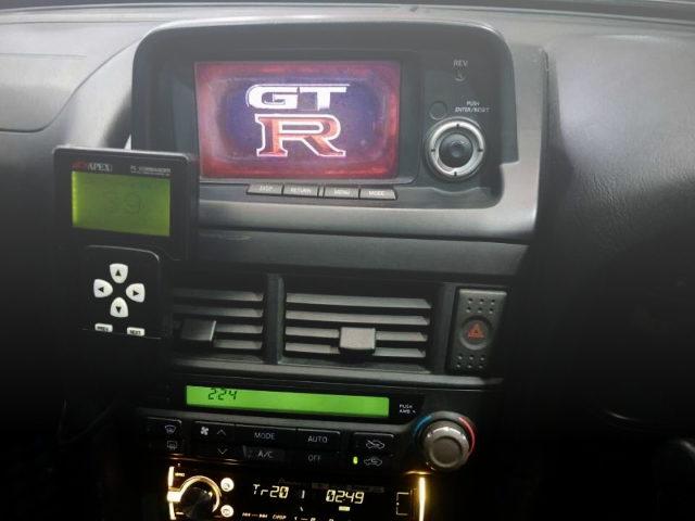 R34GTR MFD