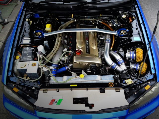NUR RB26DETT TWIN TURBO ENGINE